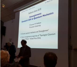 Srečanje z Nobelovim nagrajencem prof. dr. Duncanom Haldanenom